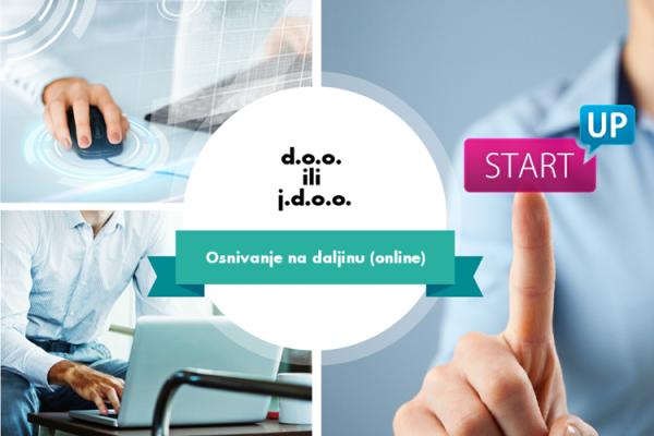 Osnivanje d.o.o. i j.d.o.o. online
