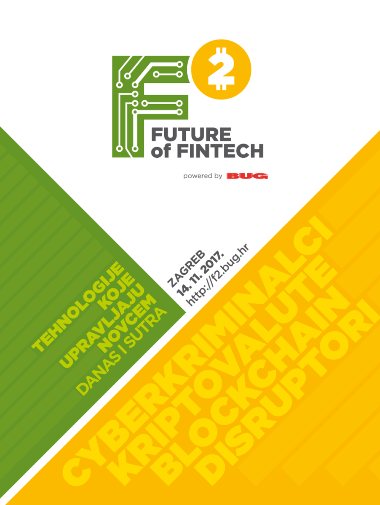 Konferencija F2 – Future of Fintech – RASPRODANA!