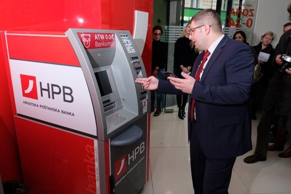 HPB omogućila podizanje gotovine bez kartice