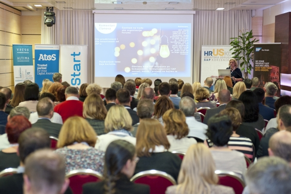 5. HrUSKo Forum okupio više od 160 korisnika SAP-a u Hrvatskoj