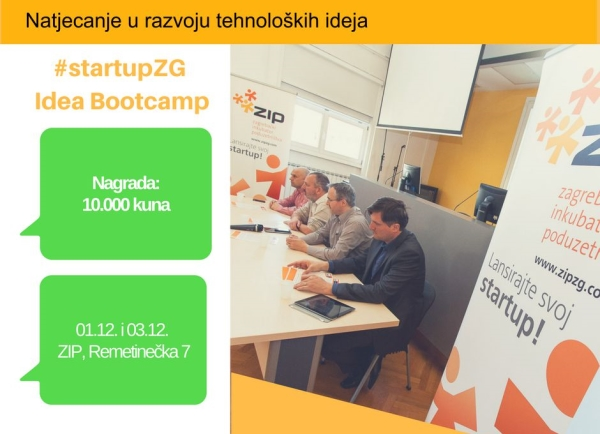 #StartupZG – Idea Bootcamp