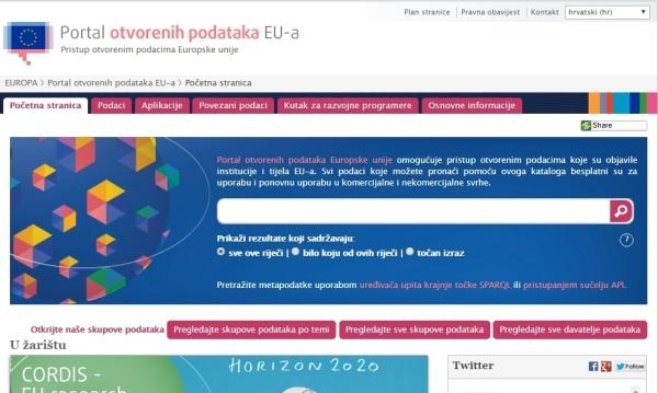 Prijedlog izmjene direktive EU o javnim podacima