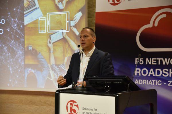 Dino Novak, šef tvrtke F5 Networks, za regiju Adriatics