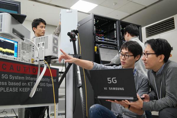 KT i Samsung uspostavili poziv koristeći 5G mrežu