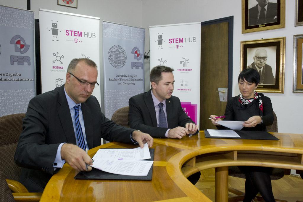 Novi ugovor između HT-a i FER-a – bolja razmjena znanja i prakse iz područja STEM-a