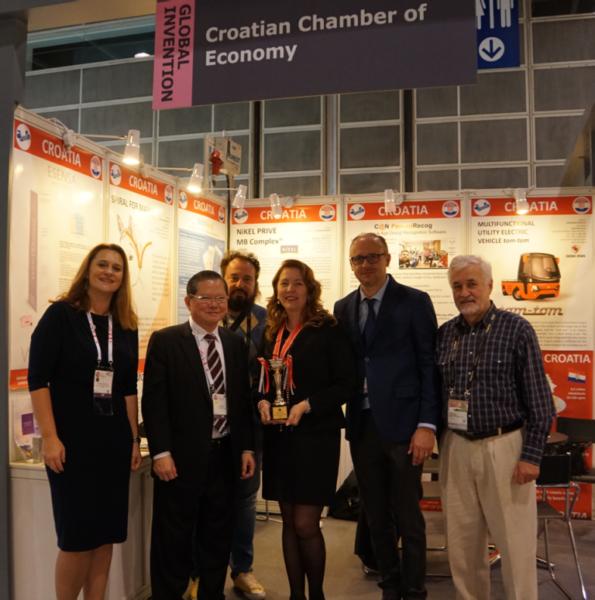 Hrvatski štand na izložbi inovacija u Hong Kongu
