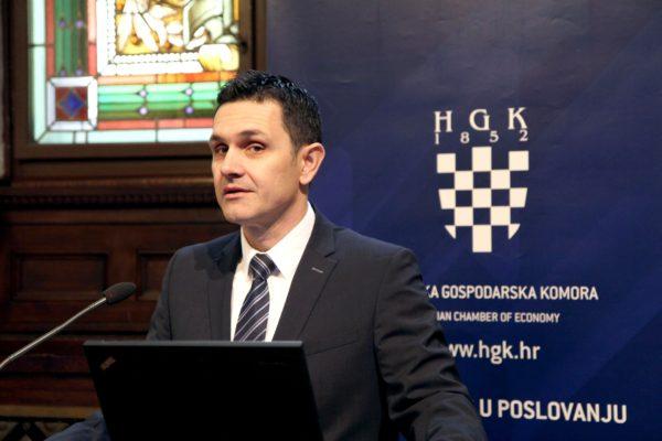 Tomislav Radoš, potpredsjednik HGK za industriju i IT, energetiku i zaštitu okoliša