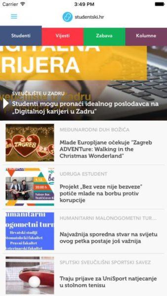 Studentski portal sa svojom mobilnom aplikacijom