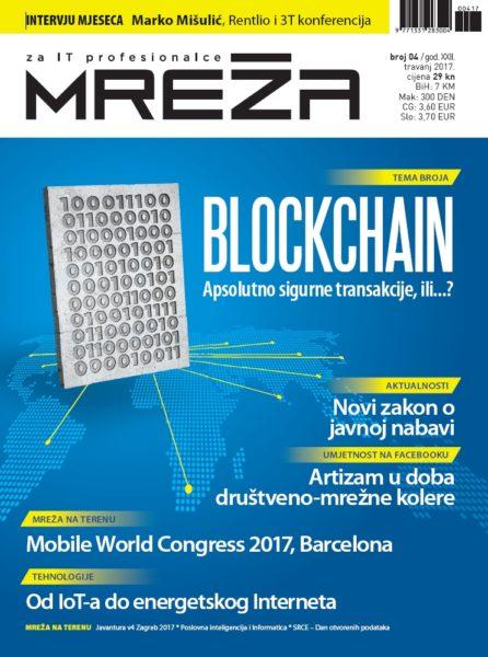 Mreža 4/2017: Blockchain, javna nabava, energetski internet, MWC i umjetnost na Facebooku
