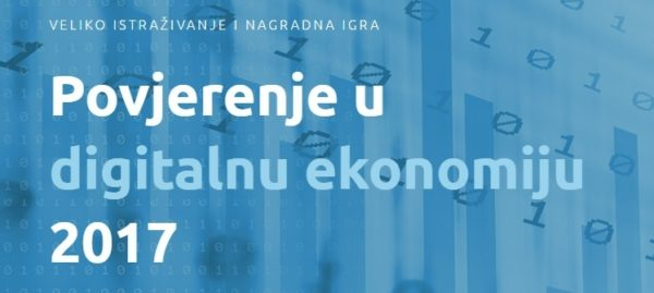 Prezentacija projekta Povjerenje u digitalnu ekonomiju 2017