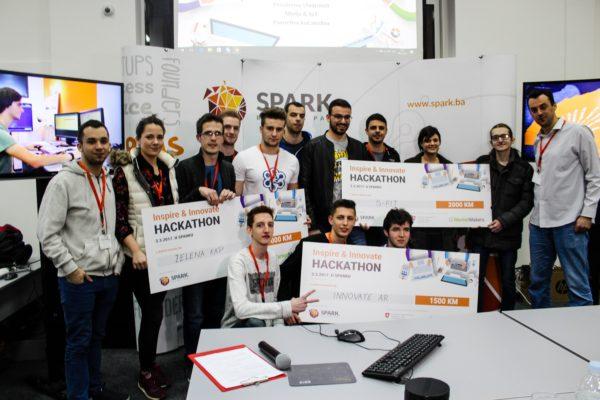 U mostarskom Sparku održan Inspire & Innovate Hackathon