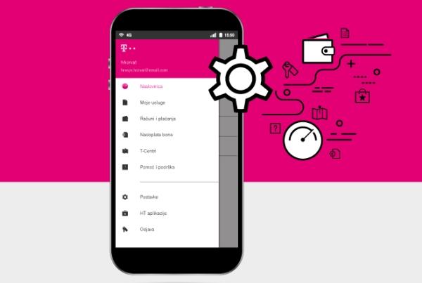 HT: upravljanje uslugama putem mobilne aplikacije Moj Telekom