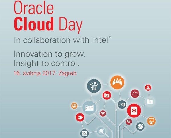 Oracle Cloud Day: Inovacija za rast. Znanje za kontrolu