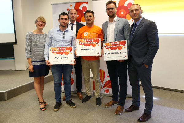 Dodijeljene nagrade digitalnim herojima među malim poduzetnicima