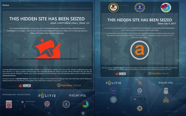 Srušena dva najveća dark web servisa