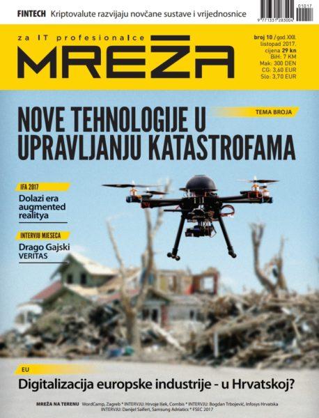 Mreža 10/2017: Odgovor na katastrofe, kriptovalute, augmented reality…