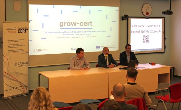 Predstavljen projekt GrowCERT