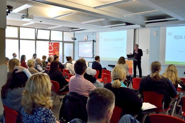 Sastanak hrvatskih istraživača i organizacije Reasearch Data Alliance