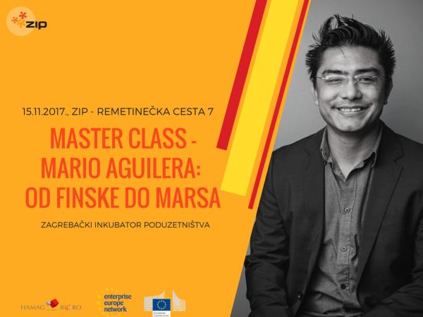 Master Class – Mario Aguilera: od Finske do Marsa