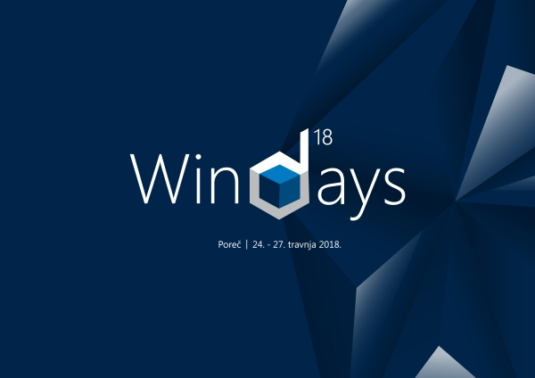 WinDays18 od 24. do 28. travnja 2018. u Poreču