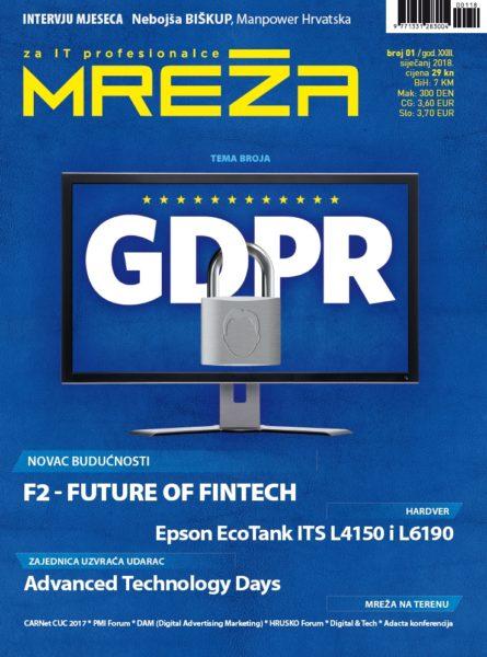 Mreža 1/2018: GDPR ludilo!