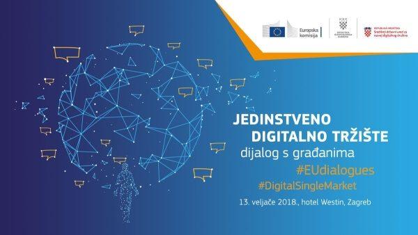 Konferencija i dijalog s građanima o jedinstvenom digitalnom tržištu