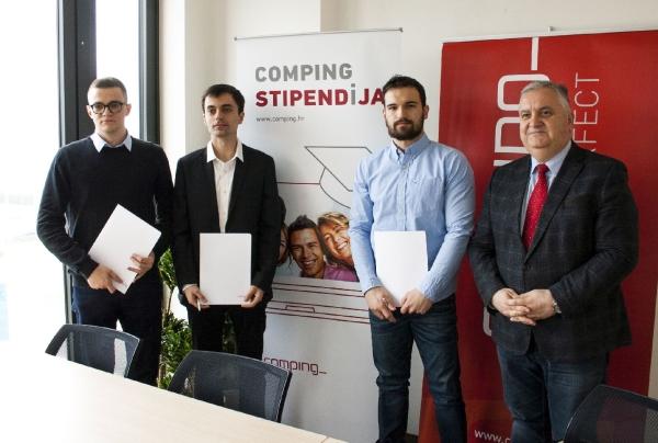 Comping dodijelio nove stipendije i predstavio Akademiju