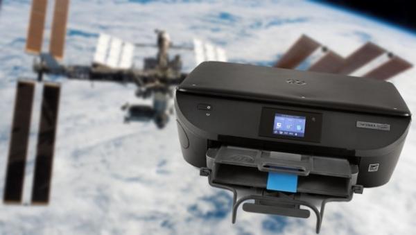Pisač HP ENVY ISS poslan u svemir na raketi Space-X CSR 14