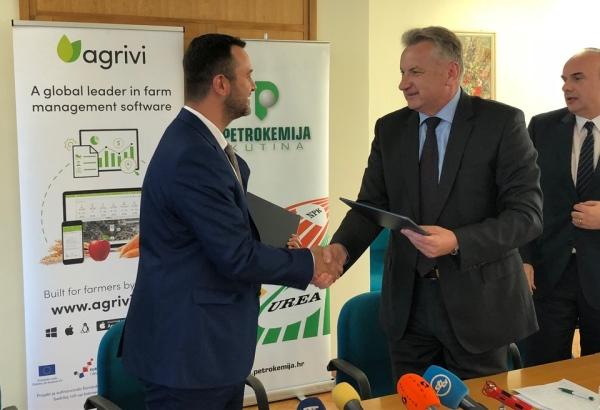 Strateški sporazum Agrivija i Petrokemije za digitalnu poljoprivredu