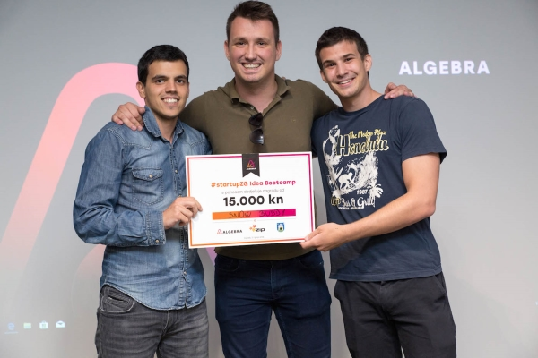 Projekt Snow Buddy pobjednik drugog #startupZG