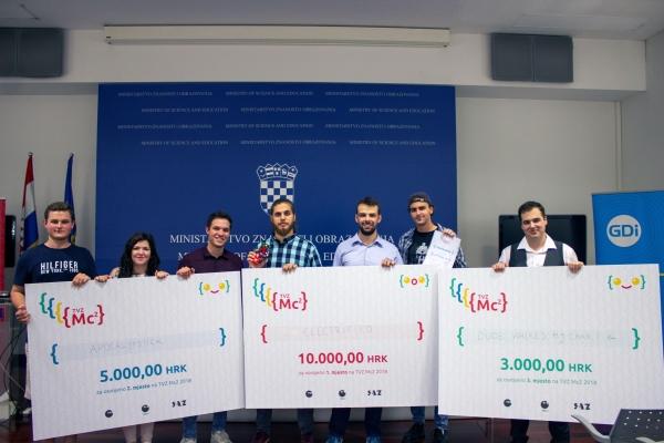 Pobjednik TVZ Mc2 natjecanja tim Electrified za rješenje Ardu The Kid