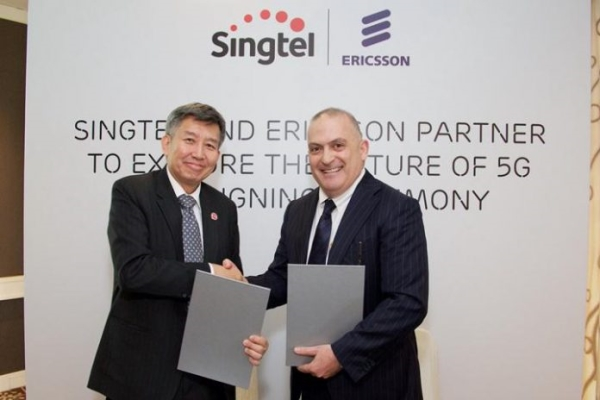 Singtel i Ericsson pokrenuli prvu pilot 5G mrežu