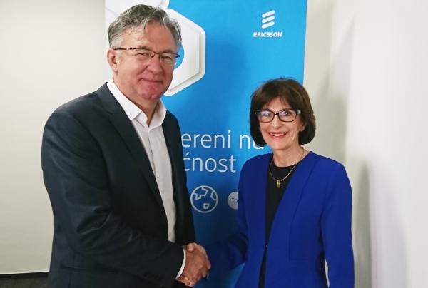 Otvoren ured Ericsson Nikole Tesle i potpisan ugovor s HT Mostarom