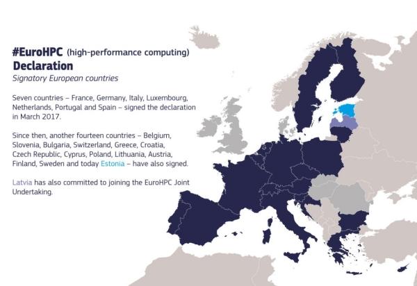 I Estonija se pridružila europskoj inicijativi za razvoj superračunala