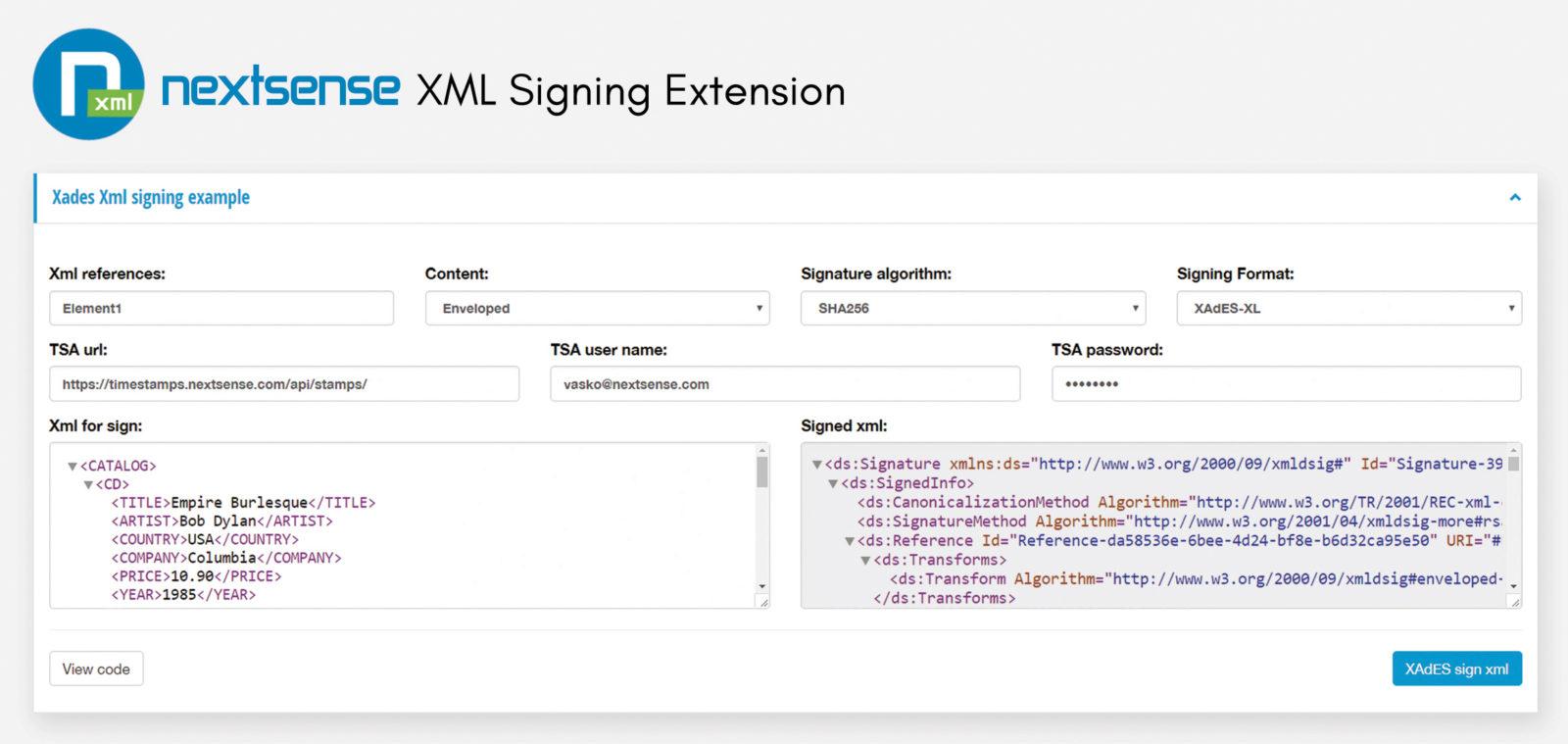 NextSense Signing Extension: Potpisano, zapečaćeno, isporučeno
