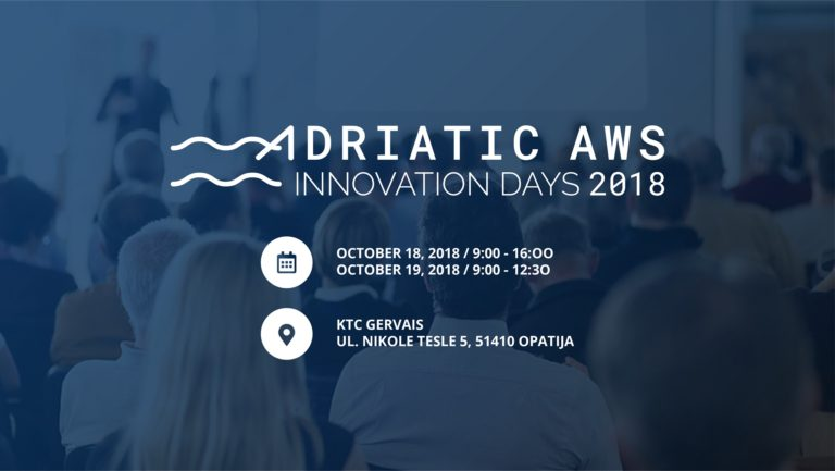 Adriatic AWS Innovation Days 2018 – besplatna konferencija za one koji žele više o cloud tehnologiji