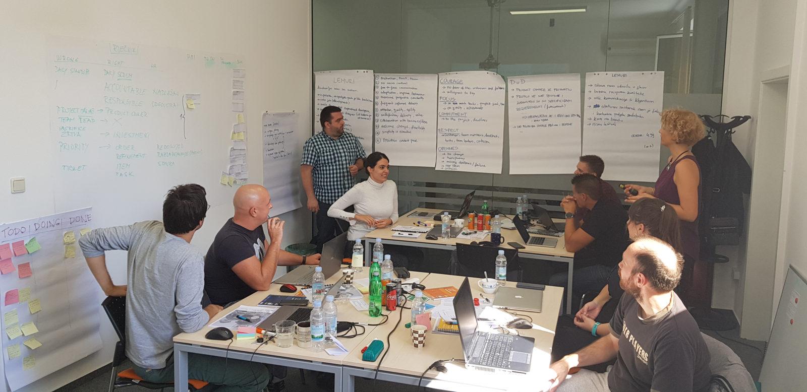 Certificirani Scrum.org tečajevi održani krajem rujna po prvi put u Zagrebu