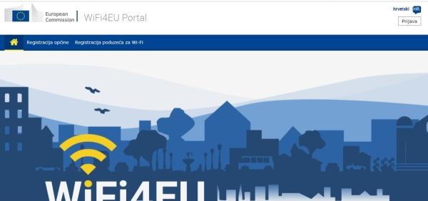 Ponovno otvoren mrežni portal WiFi4EU