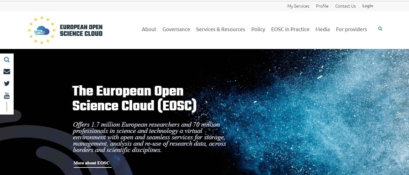 Službeno pokrenut Europski oblak otvorene znanosti