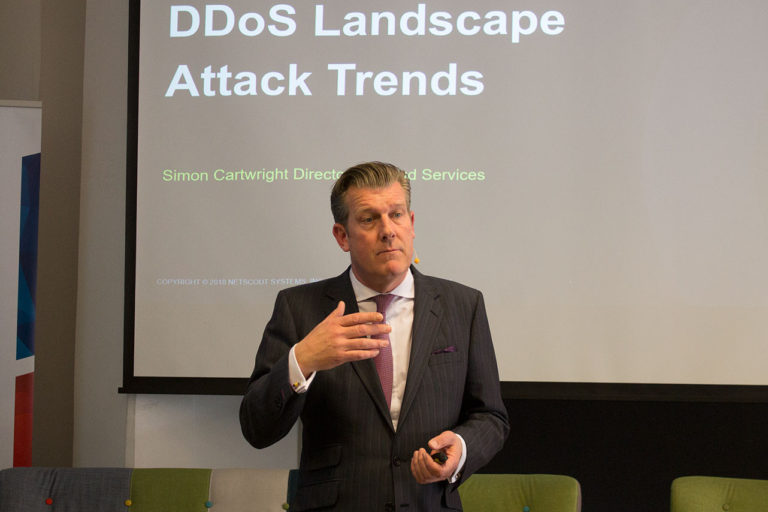 Simon Cartwright, Director Global Cloud Sales and Managed Services at Arbor Networks, the security division of NETSCOUT