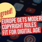 EU dogovor o novoj regulativi o autorskim pravima