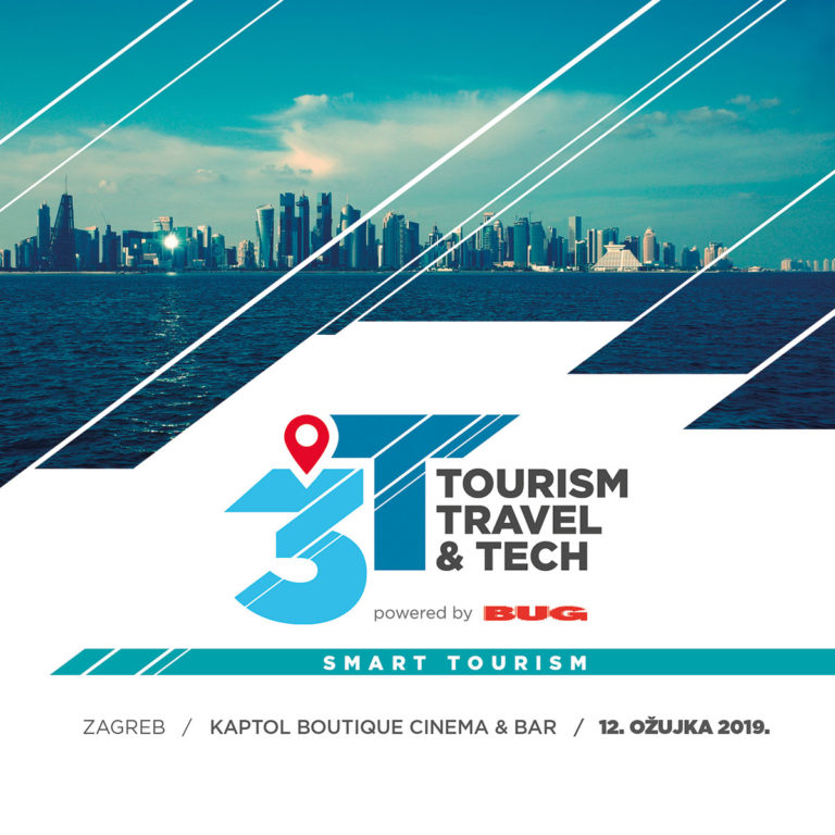 Kompletan program konferencije 3T – Tourism, Travel and Tech
