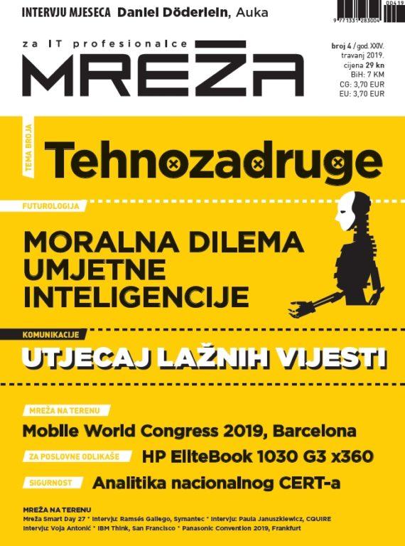 Mreža 4/2019: Tehnozadruge i dileme umjetne inteligencije
