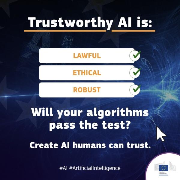 Pilot faza etičkih smjernica umjetne inteligencije u EU praksi