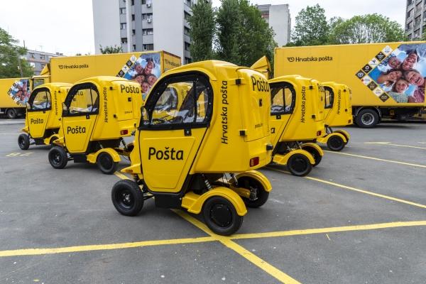 Hrvatska pošta zazelenila vozni park novim vozilima