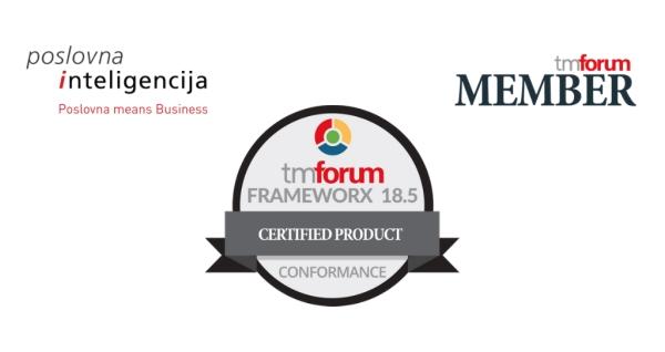 PI Telco DWH modelu cerifikat TM Forum Frameworx