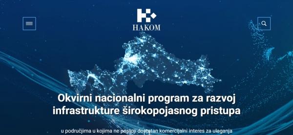 Predprijave za broadband u područjima bez komercijalnog interesa