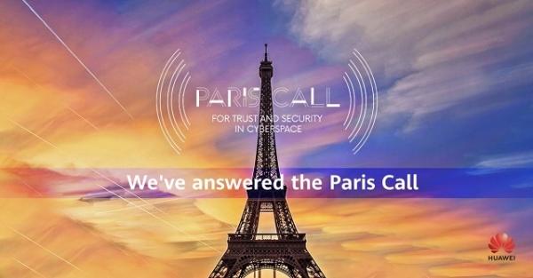 Huawei podržao Pariški poziv na povjerenje u cyber prostoru