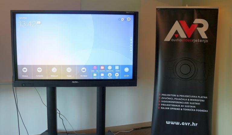 U Zagrebu predstavljeni novi Newline interaktivni zasloni