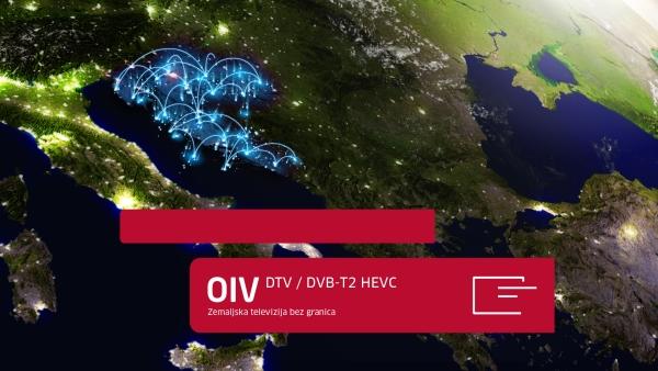 HD program u DVB-T2 HEVC na području cijele Hrvatske